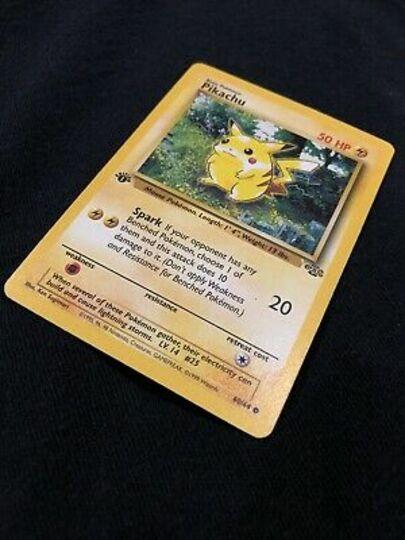 Pokemon Pikachu 60/64 Item Image