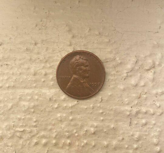 1957 penny Item Image