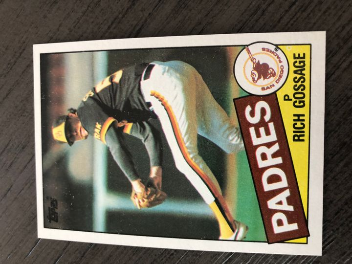 1985 TOPPS RICH GOSSAGE 90 Item Image