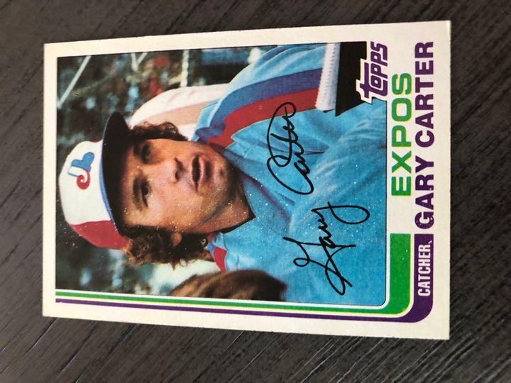 1982 TOPPS GARY CARTER 730 Item Image